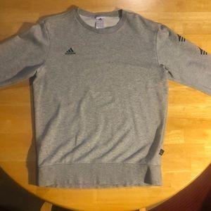 Adidas Crewneck Sweater in Gray